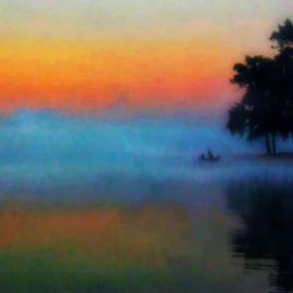 Fishing in the Mist By Mark Goodhew