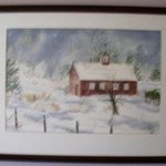 Winter in New England By Joanna Batherson