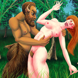 Satyr And Nymph, Joao Werner