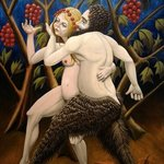 satyr and nymph By Joao Werner