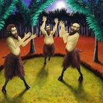 Three Satyrs Singing, Joao Werner
