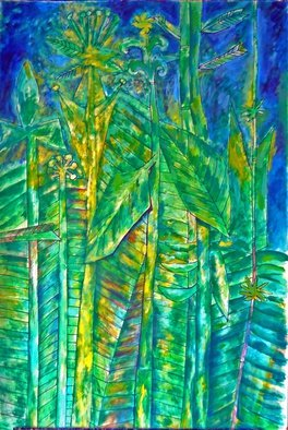 Artist: Joe Roache - Title: Jungle Song - Medium: Acrylic Painting - Year: 2014