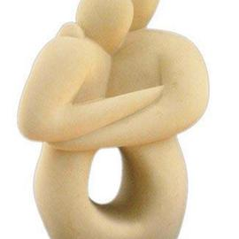 Joe Xuereb Artwork Hieros Gamos, 2001 Stone Sculpture, Figurative