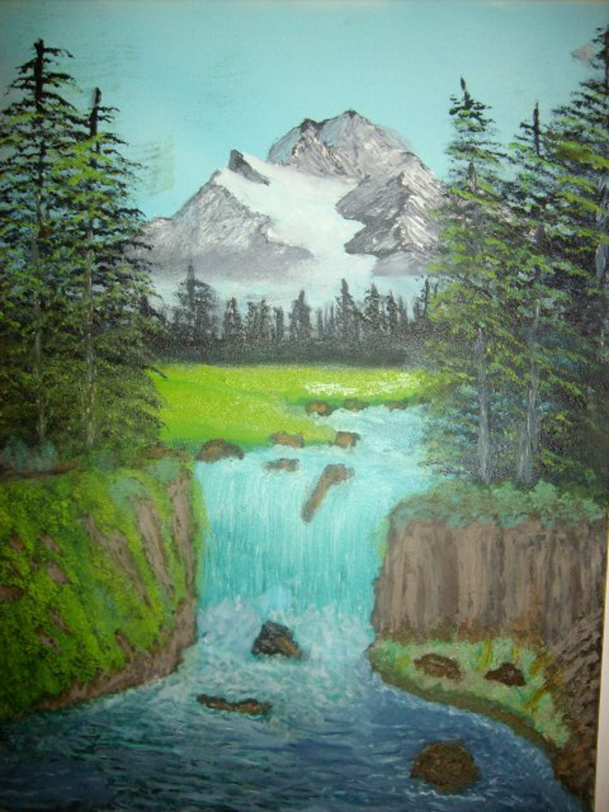 Fantasy Landscape Oil Painting