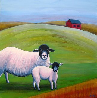 John Cielukowski Artwork 2 Sheep, 2012 , Circus