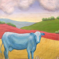 , Blue Cow, undecided, $284