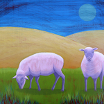 sheep meadow By John Cielukowski