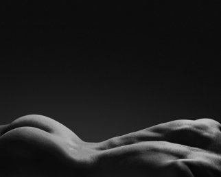 John Falocco: 'Bodyscape', 2016 Black and White Photograph, Nudes. Artist Description:  Photographic Nude  ...