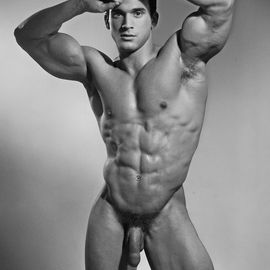 John Falocco Artwork Marcel, 2012 Black and White Photograph, Nudes