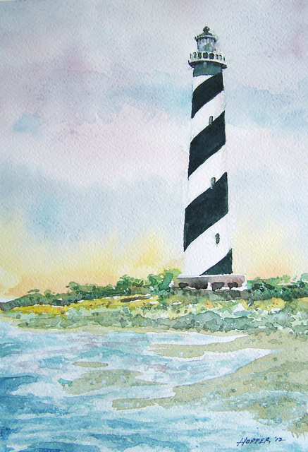 John Hopper Cape Hatteras Light 2012