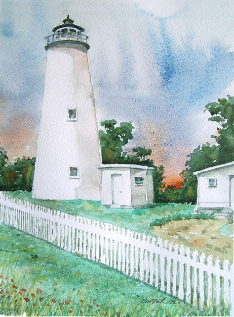 John Hopper Ocracoke Light 2012
