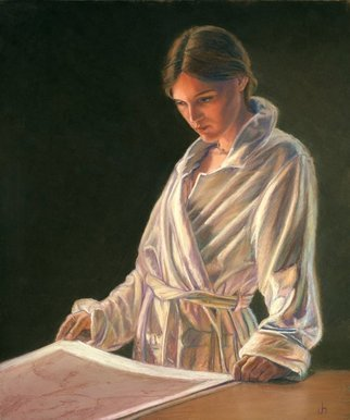 John Hunn Artwork FAWN IN ROBE, 2012 Pastel, undecided