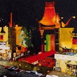 Chinese Theater 1965 By Juan Carlos Vizcarra