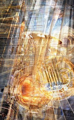Undefined Medium by John Peter Glover titled: Composition for Brass, 2003