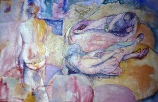 John Powell Artwork Ballerinas in Dialogue, 2011 Giclee, Figurative