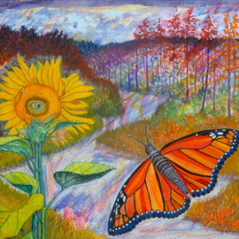 Monarch Butterfly By John Powell