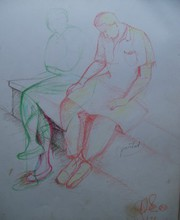 - artwork Romance_in_Reading-1169577735.jpg - 1991, Drawing Other, Love