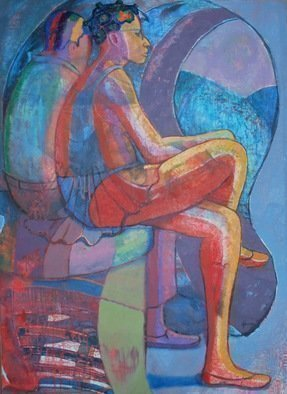 John Powell Artwork Time Passes 11, 2012 Giclee, Romance