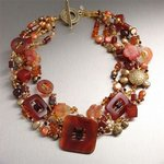 Carnelian Necklace, John Brana