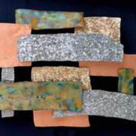John Searles Artwork Mixed Metals Wall Sculpture, 2008 Other Sculpture, Abstract