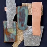 Mixed Metals vertical design By John Searles