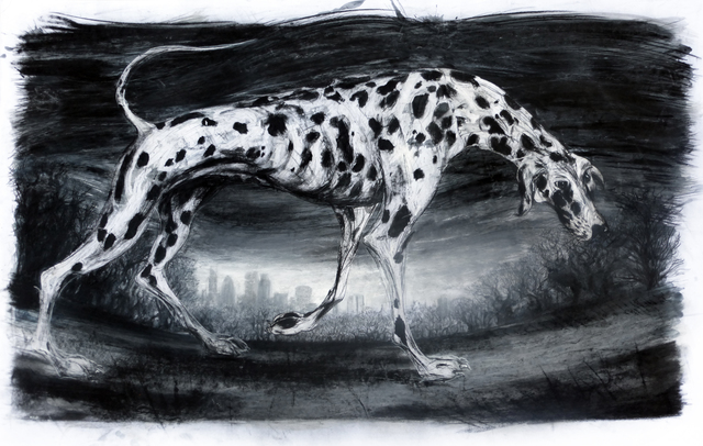 John Sharp  'Dog On The Heath', created in 2013, Original Other.