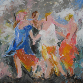 Playing with Poussin II, Dance to the Music of Time