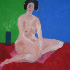 red green blue nude