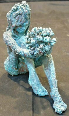 Bronze Sculpture by James Johnson titled: Fall, 2012