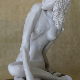 James Johnson: 'Kakia', 2006 Other Sculpture, Nudes. Artist Description: archetype, nude, female, beauty, dance, erotic, fantasy, figurative, mystical, meditation, mythology, new age, spiritual, nudes ...