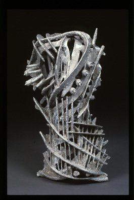 James Johnson: 'fragmented', 2011 Aluminum Sculpture, Figurative. Artist Description: Wonderful hand cast aluminum female torso. ...
