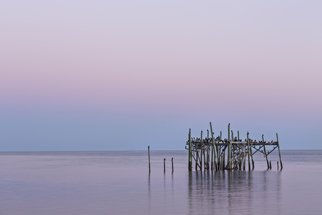 Jon Glaser: 'Barely Standing', 2014 Color Photograph, Landscape. Artist Description:  Near Cedar Key, Florida, the structure refuses to fall despite being subjected to mother nature.This image is available in the following sizes13x19 lustre photographic paper16x24 lustre photographic paper      ...