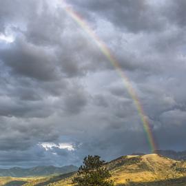 Dallas Divide Rainbow