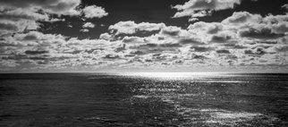 Jon Glaser: 'Endless Clouds II', 2012 Black and White Photograph, Landscape. Artist Description:  This photograph was taken along the coastline in Acadia National Park, Mainetadatalimited to 9 artist proof editions in a particular size. They will be signed and numbered on the back of the image.All images are available in the following sizes: 13x19 unframed on Luster photographic paper - ...