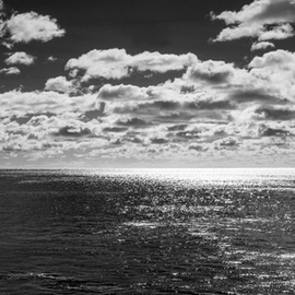 Jon Glaser Artwork Endless Clouds II, 2012 Black and White Photograph, Landscape