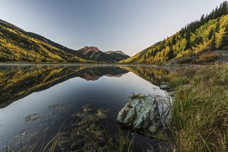 Jon Glaser: 'Fall Mirror', 2014 Color Photograph, Landscape. Artist Description:   This photograph was taken in the San Juan Mountains of Colorado.This image is available in the following sizes13x19 lustre photographic paper16x24 lustre photographic paper                          ...