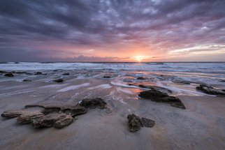 Jon Glaser: 'Glorious in St Augustine', 2016 Color Photograph, Seascape. Artist Description:  I had been to the same location 5 times  in St. Augustine before I was able to capture this glorious sunrise.This limited- edition photograph, measuring approximately 16