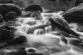Jon Glaser Artwork Isolated in the Smokies, 2016 Black and White Photograph, Seascape