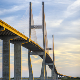 Lanier Bridge At Sunset, Jon Glaser