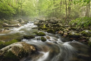 Jon Glaser Artwork S Curve in the Smokies, 2016 Color Photograph, Landscape
