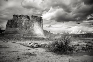 Jon Glaser Artwork Shadows on the Plain, 2015 Black and White Photograph, Landscape