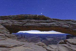 Jon Glaser Artwork Stars over Canyonland, 2015 Color Photograph, Nature