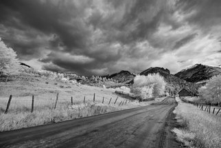 Jon Glaser: 'Traveling Down', 2014 Black and White Photograph, Landscape. Artist Description:  This photograph was taken in the San Juan Mountains of Colorado.This image is available in the following sizes13x19 lustre photographic paper16x24 lustre photographic paper                        ...