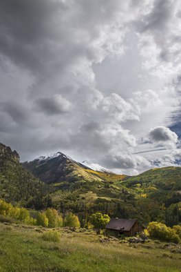 Jon Glaser: 'Under the Clouds', 2014 Color Photograph, Landscape. Artist Description:  This photograph was taken at Crystal Lake in the San Juan Mountains of ColoradoThis image is available in the following sizes13x19 lustre photographic paper16x24 lustre photographic paper                      ...