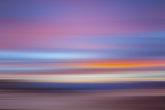 Jon Glaser: 'Zabriski Colors x', 2016 Color Photograph, Nature. Artist Description:  This image was photographed in Death Valley at sunset, but created with motion.This limited- edition photograph, measuring approximately 16