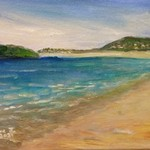 beach scene nsw no 2 By Eve Jorgensen