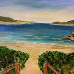 beach scene nsw no 3 By Eve Jorgensen