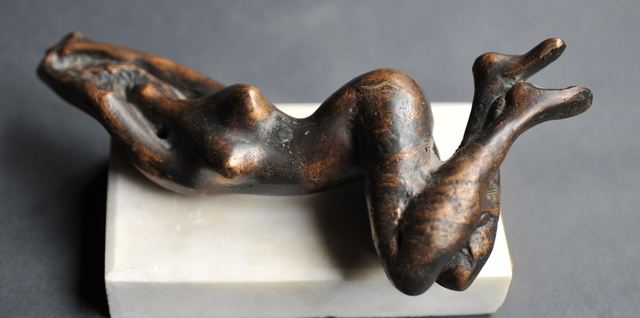 John Biro Awakeing-Bronze Sculpture 1998