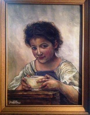 Artist: Joseph Porus - Title: A Good Portion - Medium: Oil Painting - Year: 2013
