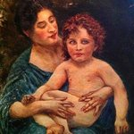 Mother and Child  By Joseph Porus